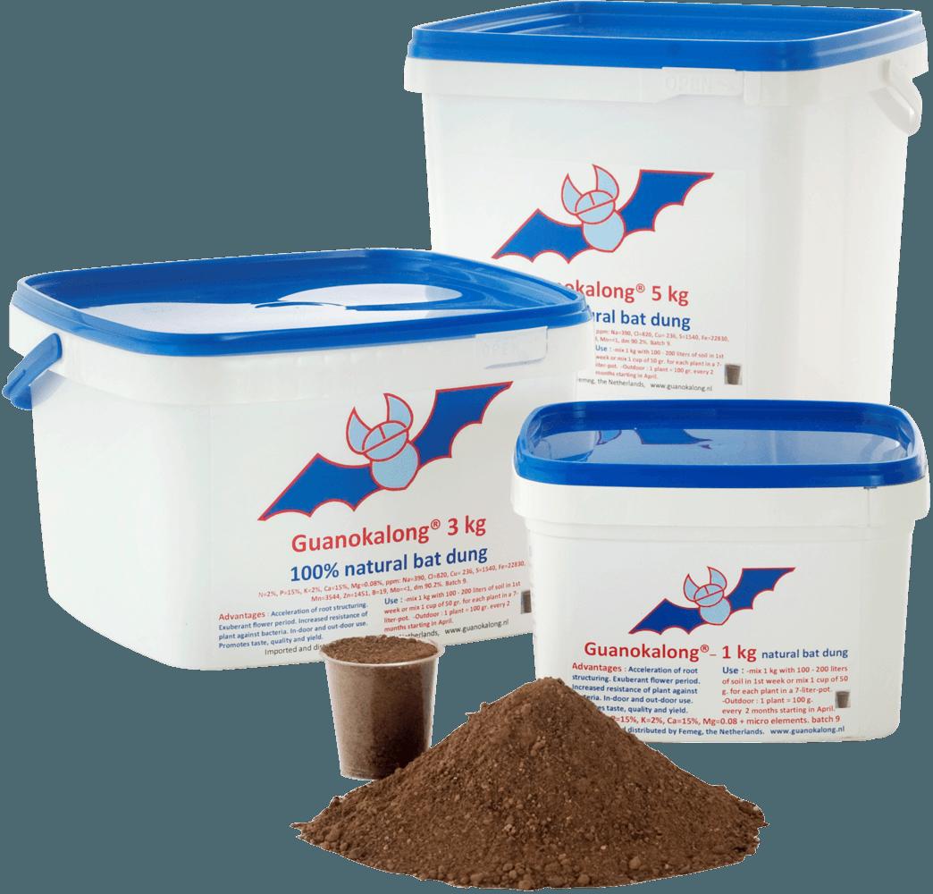 Guanokalong – organska gnojiva